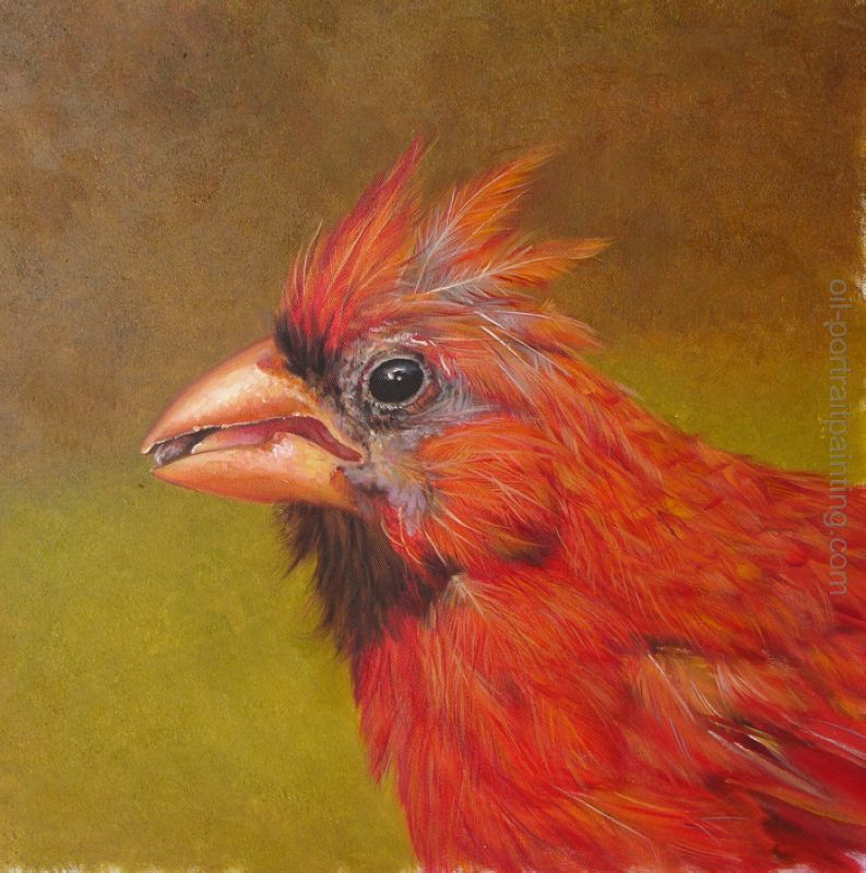 Photo to painting animal oil painting from photo for Animal oil paintings