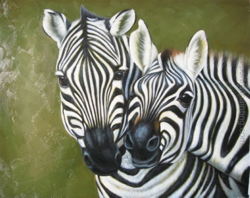 zebra oil painting - photo #49