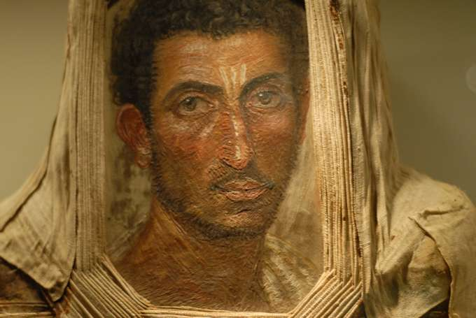 Egyptian mummy portrait